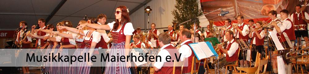 Musikkapelle Maierhöfen e.V.