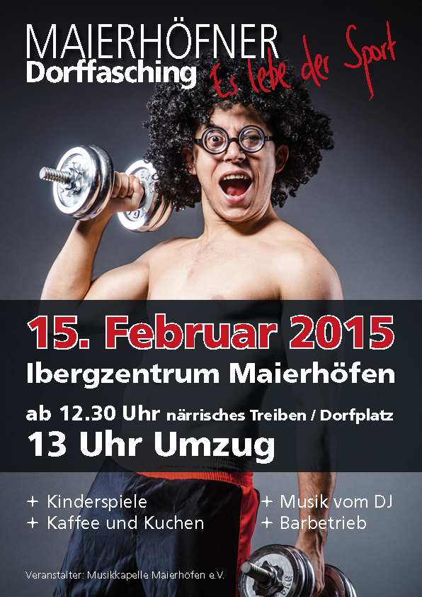 Dorffasching 2015 - Es lebe der Sport
